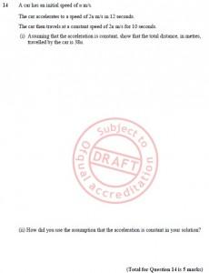 9. Edexcel - SUVAT