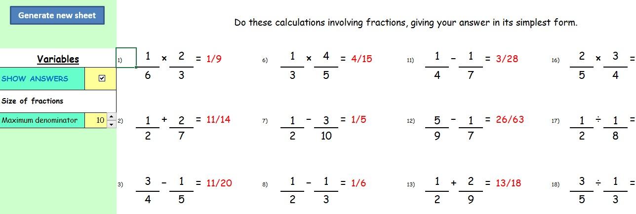 math worksheet : writing a new maths scheme of work  part 14 regular starters  : Dynamic Maths Worksheets