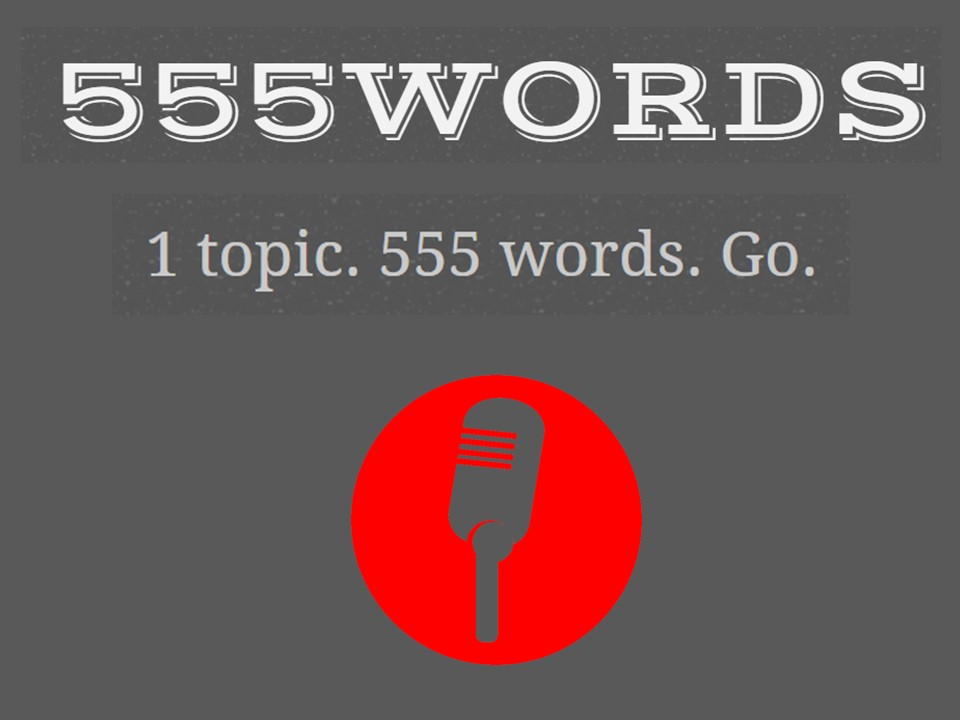 555words – my (non maths!) blog