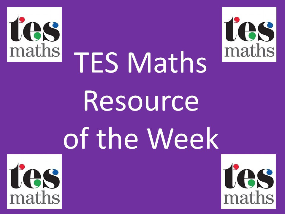 Algebraic Graphs – TES Maths ROTW 116
