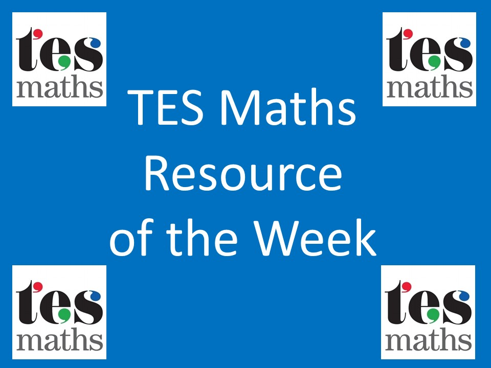 Lesson Collection 81: Function Machines – TES ROTW 81