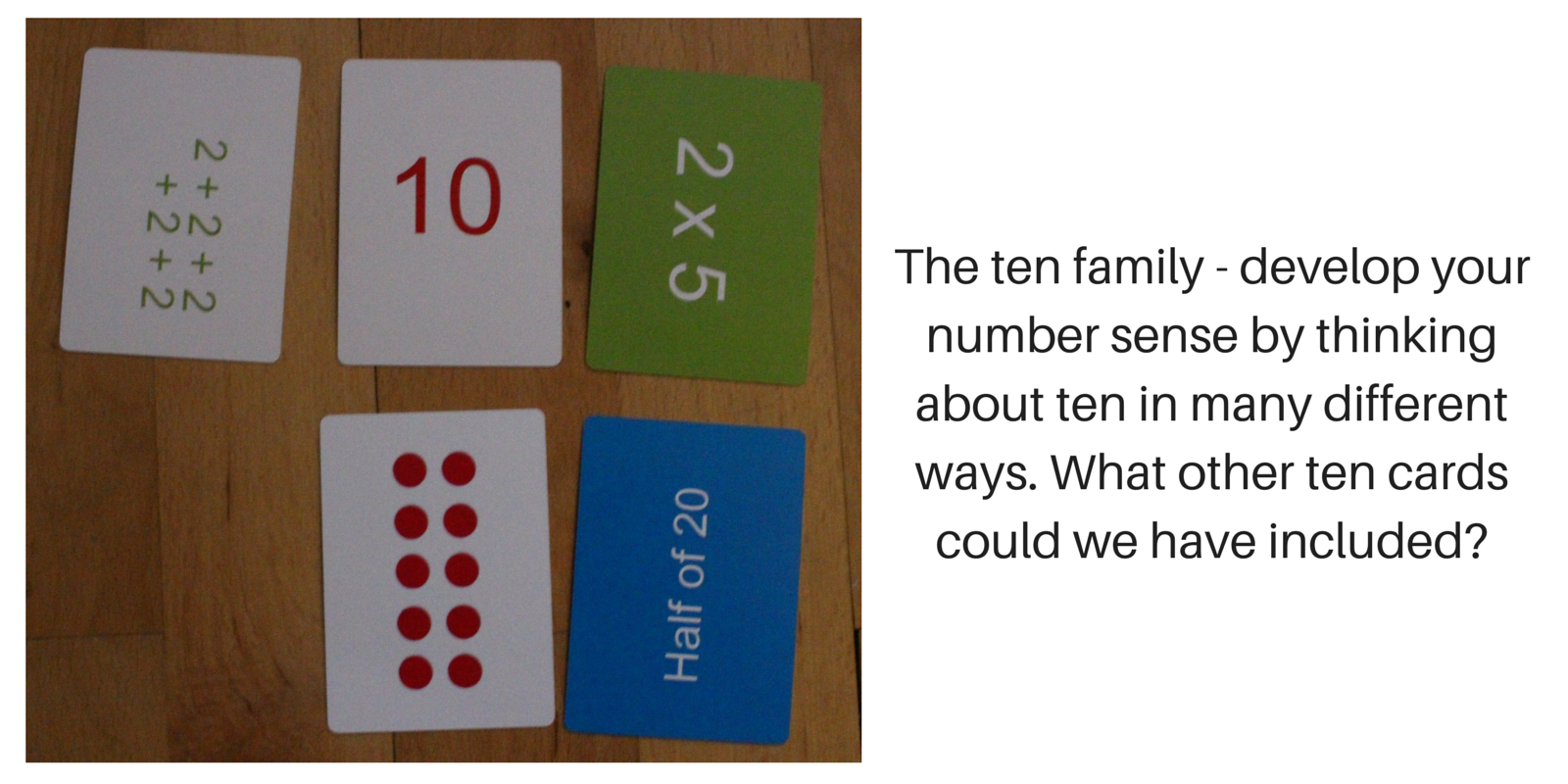 The ten family - develop your numbr sense(2)