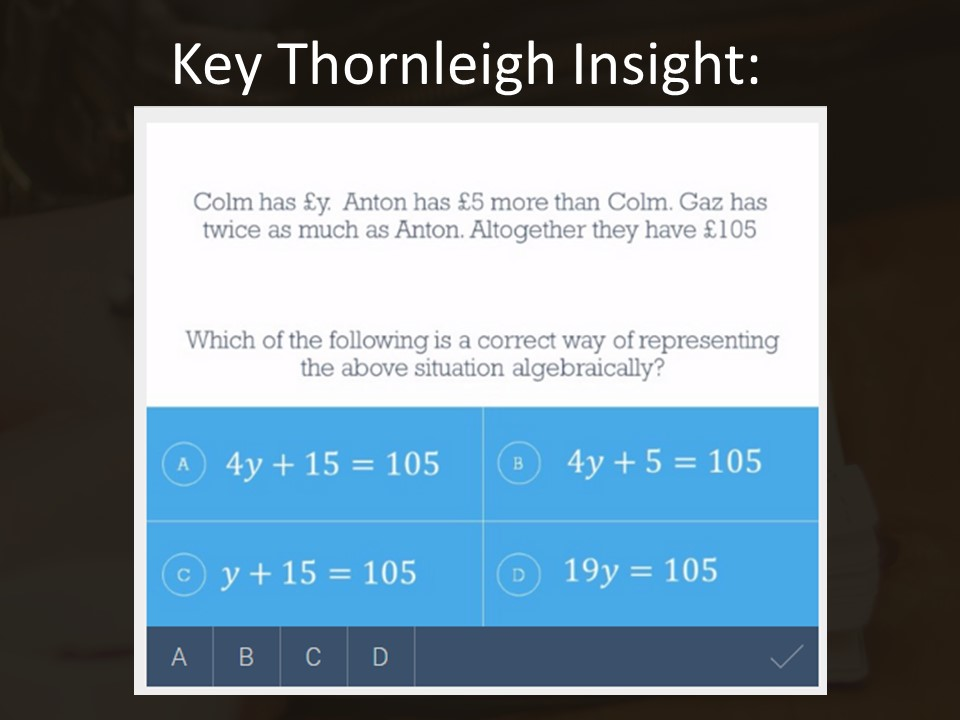 Writing Algebraic Expressions – GCSE Maths Insight of the Week 7