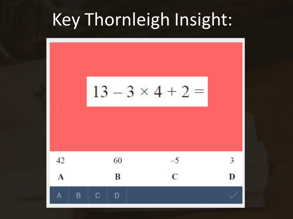 BIDMAS (order of operations) – GCSE Maths Insight of the Week 10