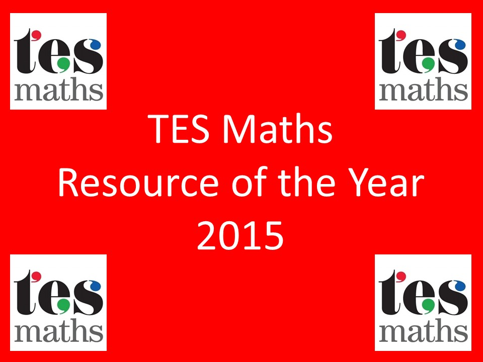 TES Maths Resource of the Year 2015