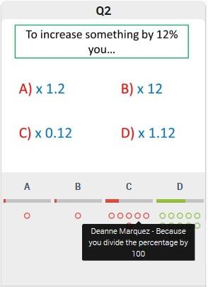 Diagnositc Questions GCSE Maths Exam Papers - Mr Barton