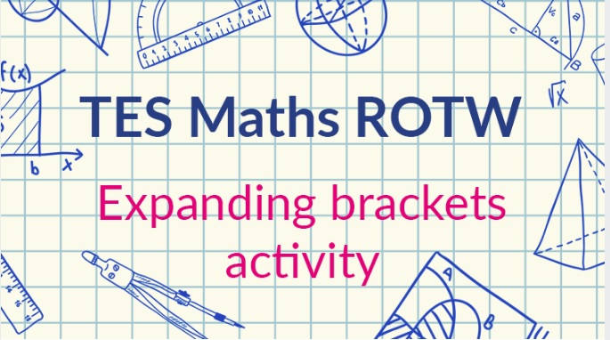 Expanding Brackets Magic Box – TES Maths ROTW