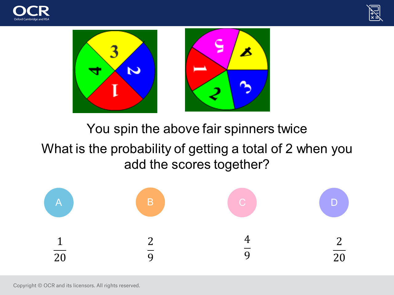 Probability of Combined Events: GCSE Maths Question of the Week (Higher)