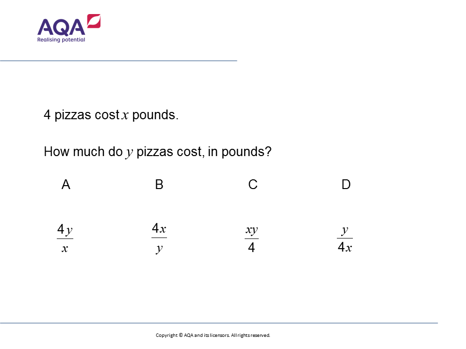 Direct Proportion: GCSE Maths Question of the Week