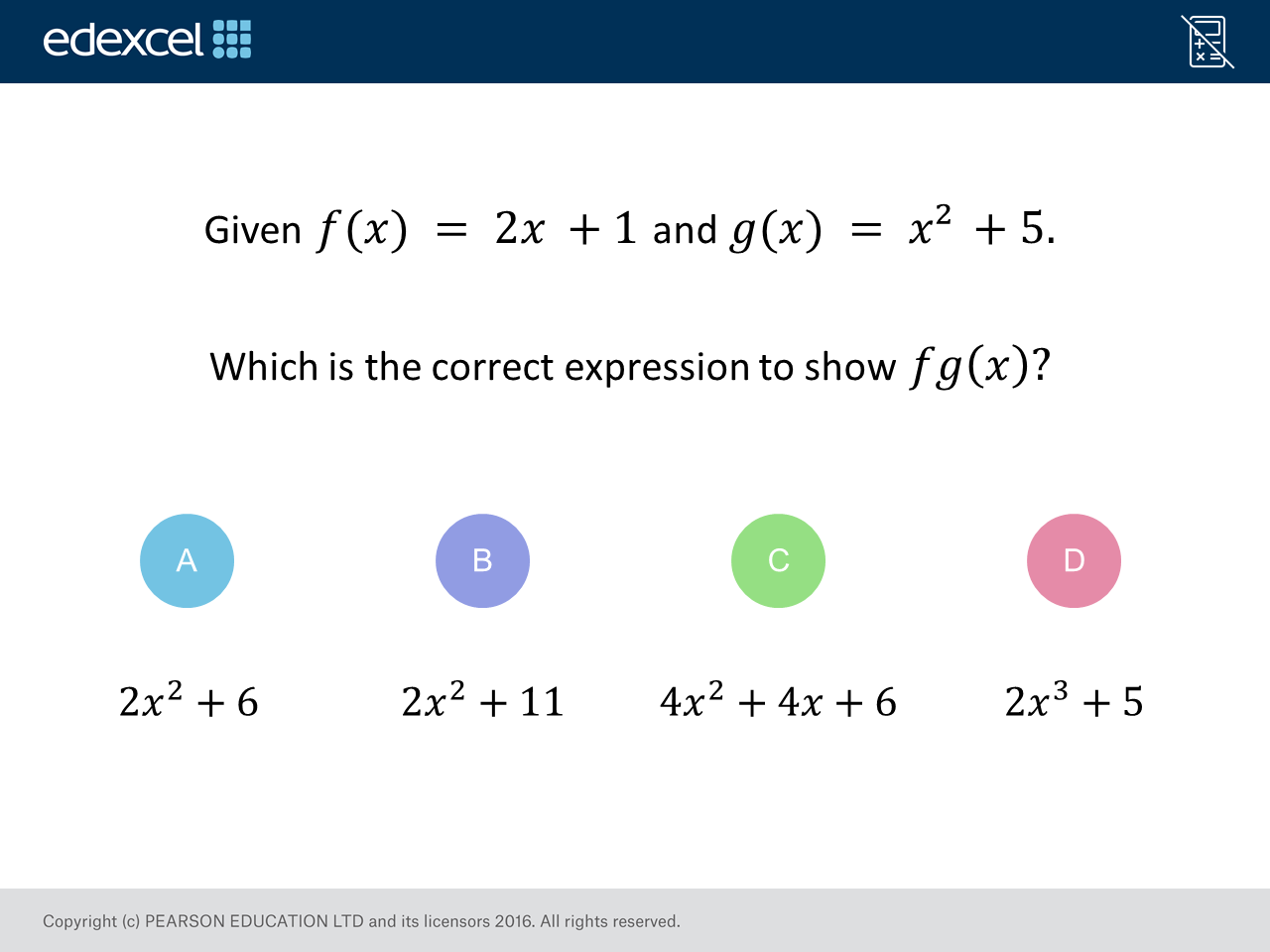 Composite Functions: GCSE Maths Question of the Week