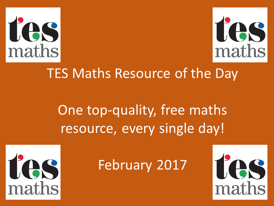 TES Maths ROTD: February 2017