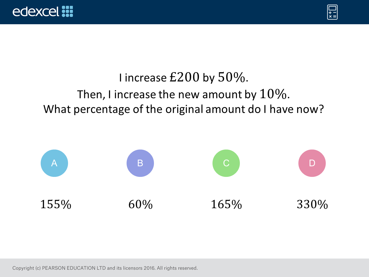 Percentage Increase: GCSE Maths Question of the Week