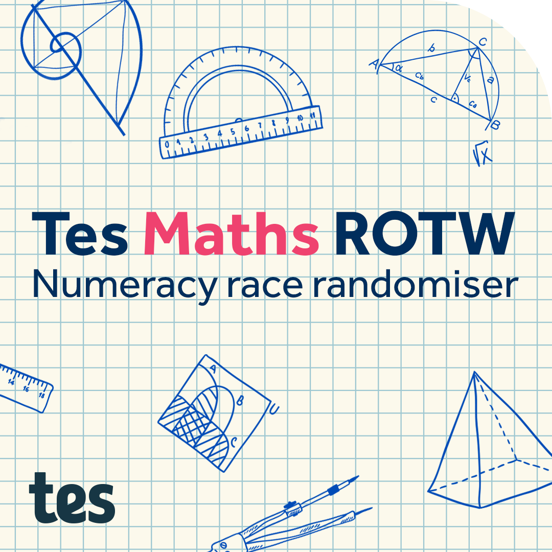 Numeracy Races: TES Maths Resource of the Week