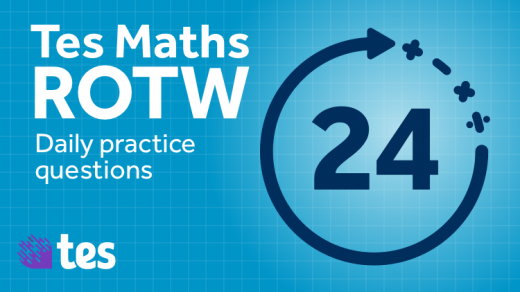 tes-resources-maths-rotw-daily-practice-questions