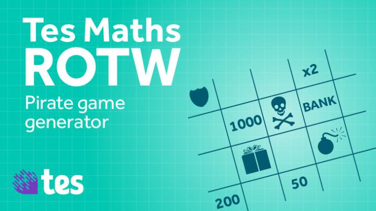 Pirate game grid generator: TES Maths Resource of the Week ...